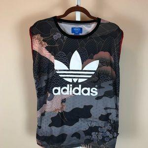 Adidas x Rita Ora Collab Muscle Tank (S)